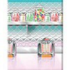 Soda shop scene setter wall decoration