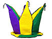 Mardi Gras crown for the king or queen of the party