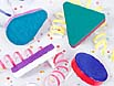 Multi-color noisemakers make a racket as you celebrate the New Year