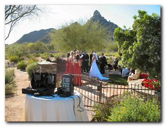 Phoenix DJ Billy James uses digital recordings and state-of-the art equipment to create an elegant soundtrack for your ceremony
