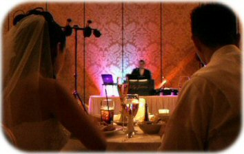 Phoenix wedding DJ Billy James will plan, prepare and personally perform at your wedding reception to insure a fun-filled, smoooth-flowing, stress-free experience.