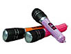 Multi color inflatable mics